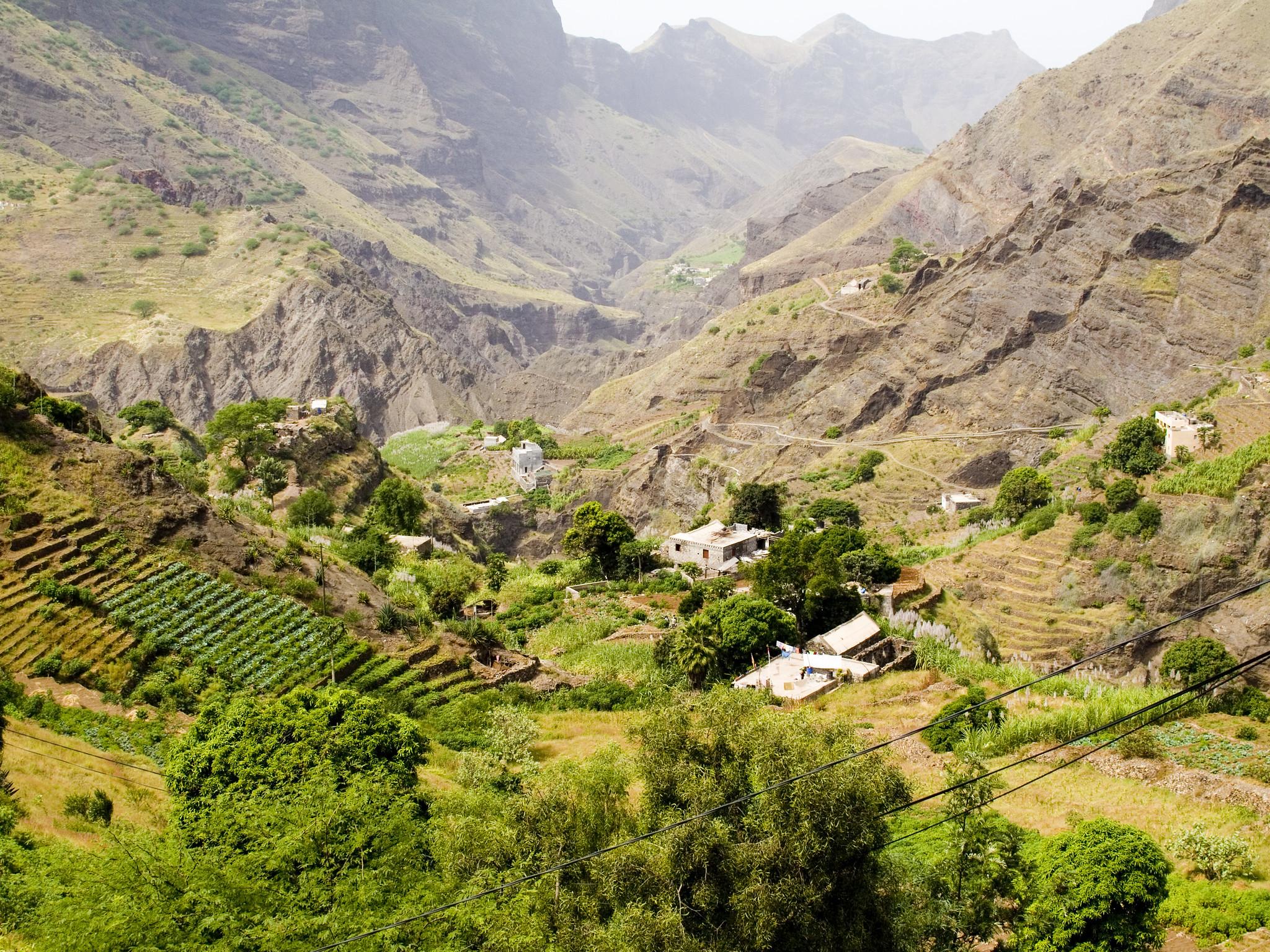 Montagne, Santo Antona, Cap-Vert