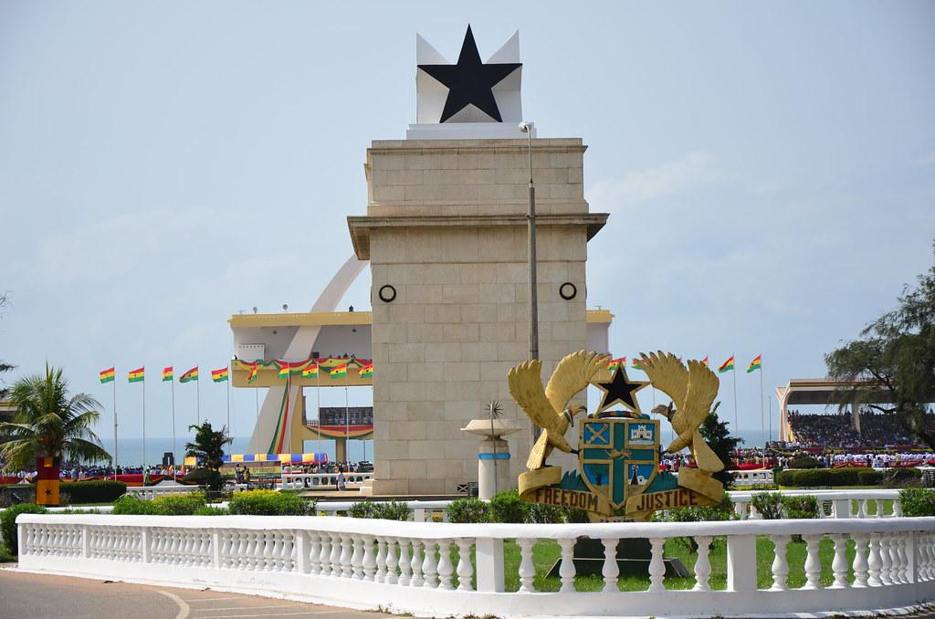 Arche de l'indépendance, Accra - Voyage au Ghana