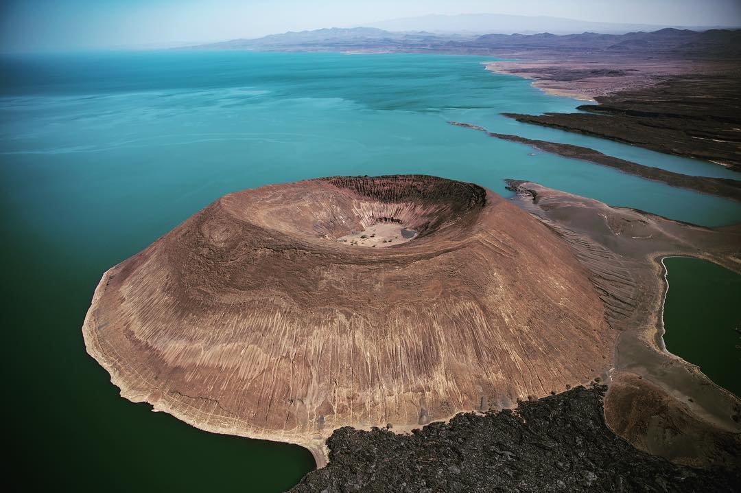 Cratère de Nabiyotum, Lac Turkana