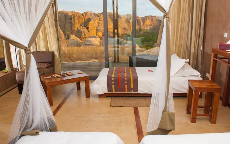 Isalo Rock Lodge - Voyage à Madagascar en famille