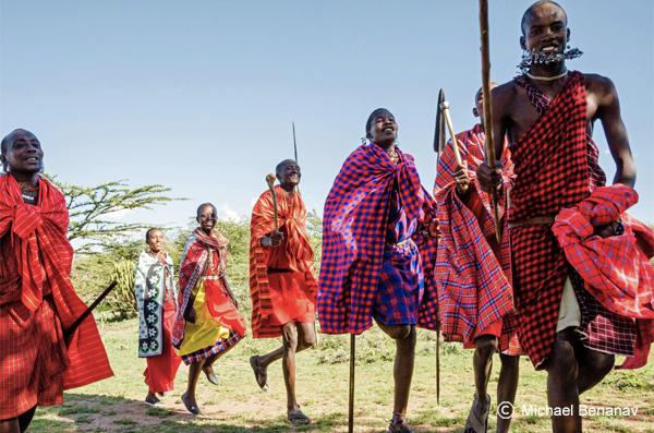 Danse Maasai, Kenya