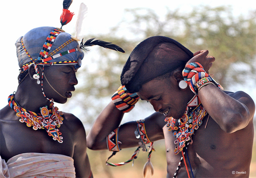 Tribu Samburu, circuit lac turkana Kenya