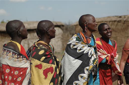 Guerriers Maasai, Kenya