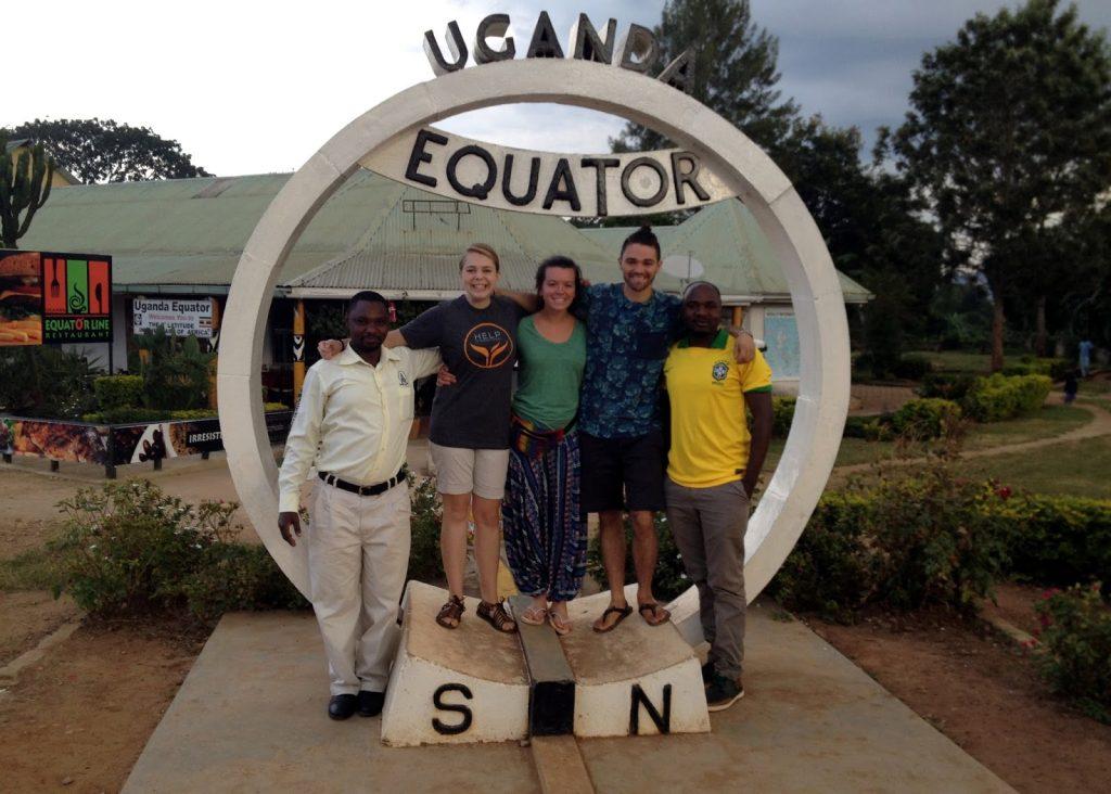 Ligne de l'équateur, circuit en Ouganda authentique