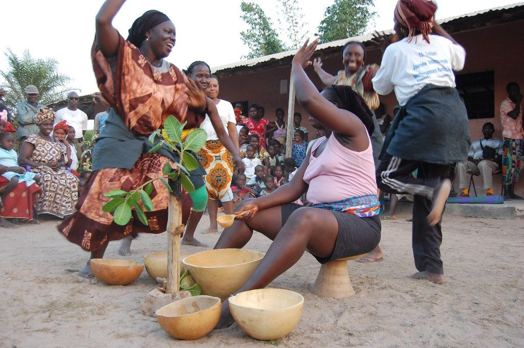 Village Guinée Bissau, Manjak