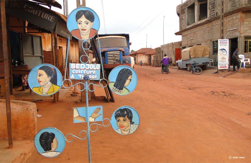 Rues du Bénin - circuit au Bénin