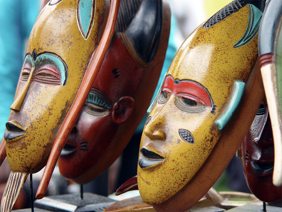 Masque artisanat bénin