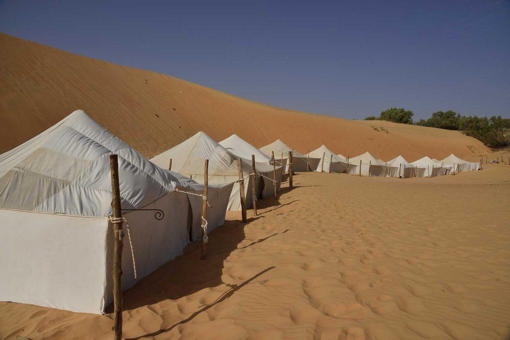 Camp du désert - Lompoul Sénégal