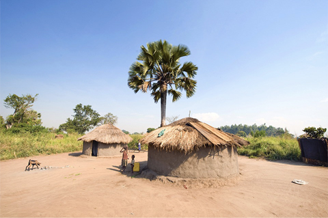 Village en Ouganda