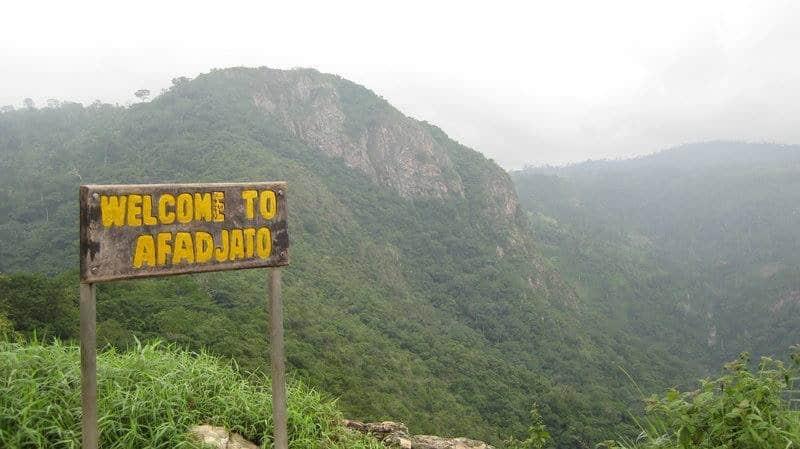 Mont Afadjato - Voyage au Ghana
