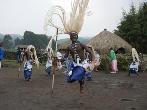 Danseur Intore Rwanda