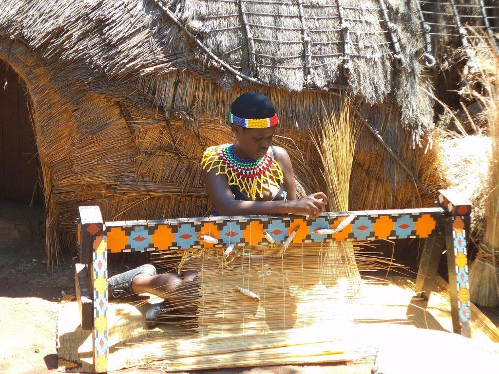 Village Swazi en Afrique du Sud