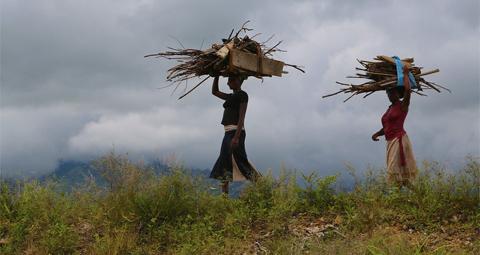 Communauté cultivateurs en Ouganda