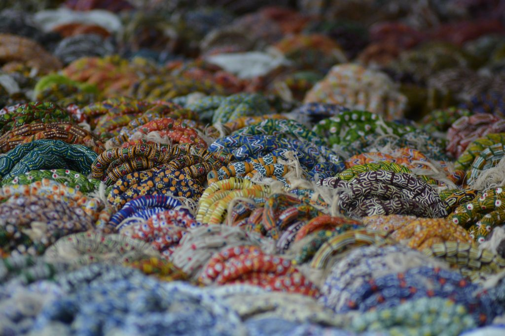 perles, Agomanya - Voyage au Ghana