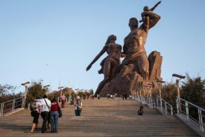 Monument renaissance Dakar