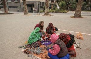Himba en ville
