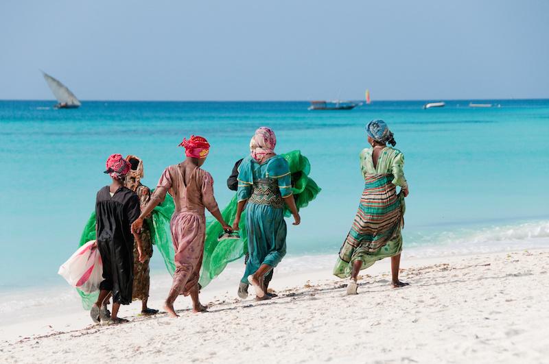 Femme Zanzibar, Tanzanie