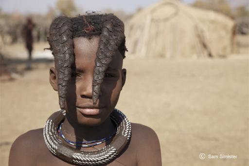 Garçon Himba - Voyage en Namibie chez les Himba