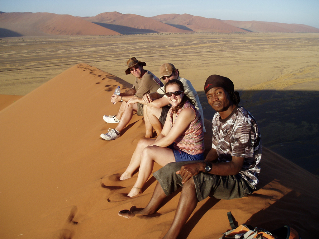 Groupe de voyage Namibie