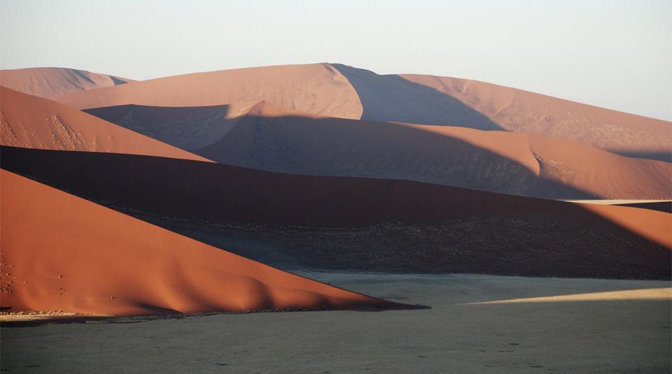 Dunes de Sossuvlei, Namibie
