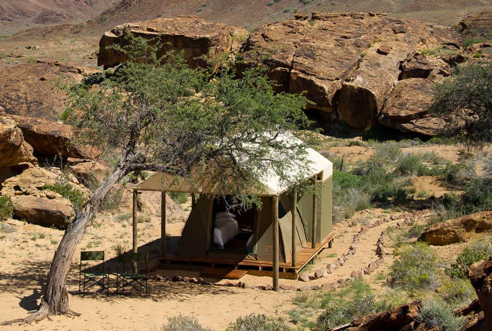 Damaraland adventurer camp