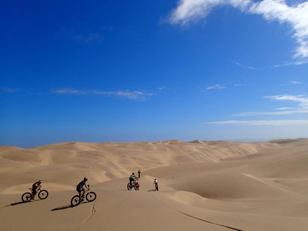 Fat bike en Namibie