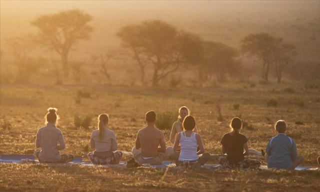 meditation savane africaine