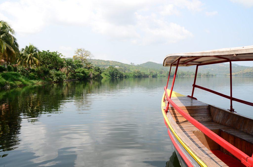 Rivière Volta - Voyage au Ghana