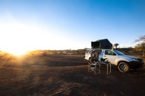 Safari libre en Namibie