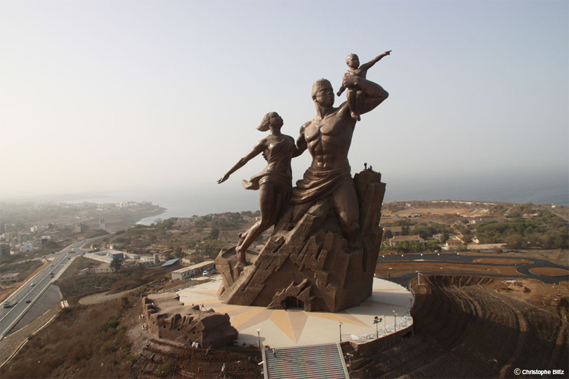 Monument Renaissance - Voyage au Ghana