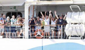 Touristes bloqués paquebot coronavirus afrique du sud