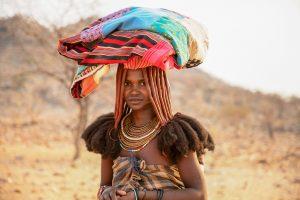 Femme Himba en Namibie