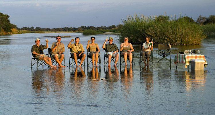 groupe de voyage Botswana