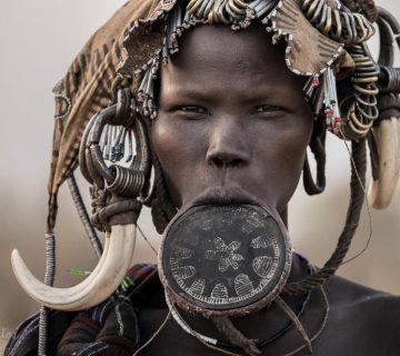 Tribu vallée de l'omo, ethiopie