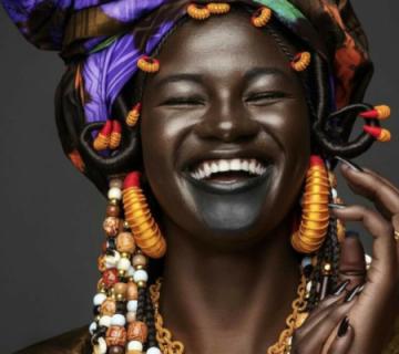Portrait sénégalaise, Wolof - circuit authentique au Sénégal