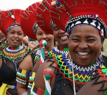 Femmes zoulou en Afrique du Sud