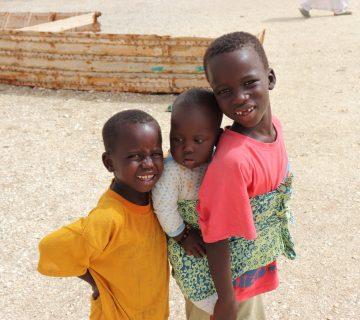 Enfants au Sénégal