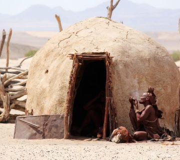Village Himba - Voyage en Namibie chez les Himba