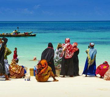 Habitants Zanzibar