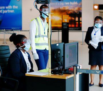 Coronavirus aéroport Afrique
