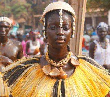 Femme Bijago - Crédit Sapo